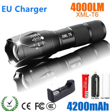 Charger l'image dans la galerie, LED Rechargeable Flashlight Abay XML T6 linterna torch 18650 Battery 5 Modes Waterproof Outdoor Camping Powerful Led Flashlight