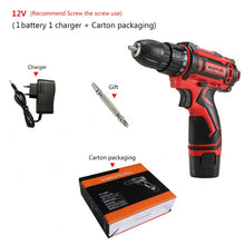 Charger l'image dans la galerie, Cordless Drill Mini 12V 16.8V 36V Rechargeable Power Tools 2 speed Flexible Shaft Cordless Screwdriver Electric