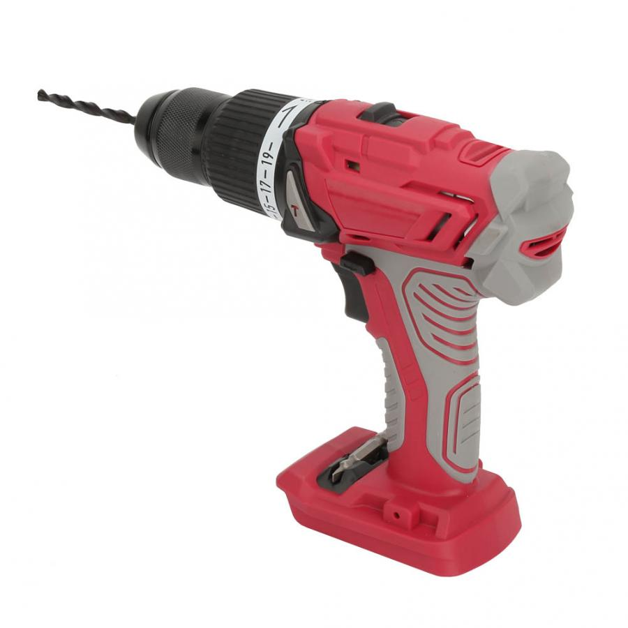 Multifunctional Cordless Impact Drill Screwdriver Adjustable Drill with LED Metal wood wall drilling profession Screwdriver