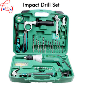 Multi-purpose Impact Drill Machine Household Use LA414413 Upholstery Drilling Wall Percussion Impact Drill Set Power Tools 220V