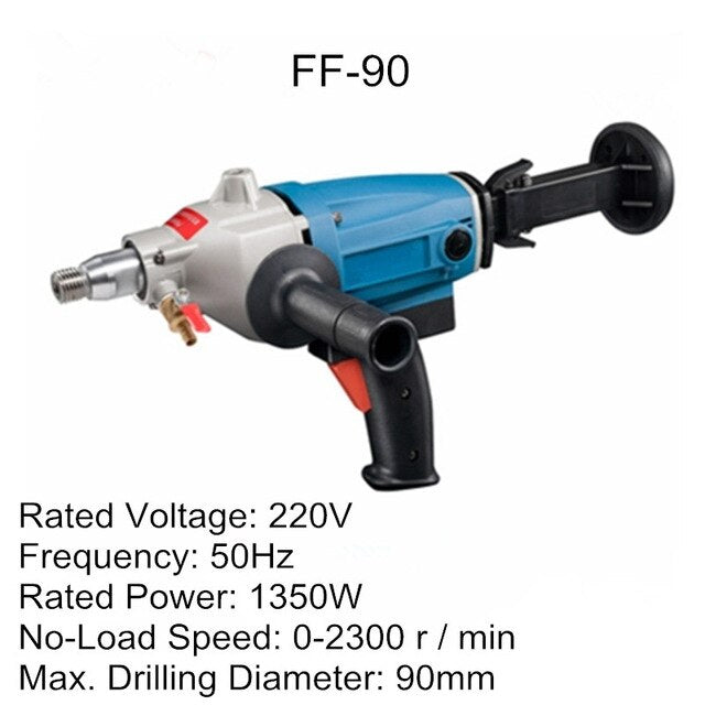 Electric Hammer Multi Puncher Hand-held Water Drilling Machine Concrete Wall Opening Machine Diamond Core Drill Electric Drill