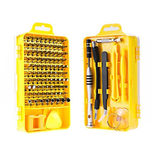Vastar 115 in 1 Screwdriver Set Mini Electric Precision Screwdriver for Iphone Huawei Tablet Ipad Home tool set