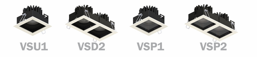 Vespertine High Out Downlights with Colour Tuneable Options : halcyonPRO