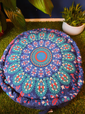 Open image in slideshow, Meditation cushion from india. (Fairtrade item)