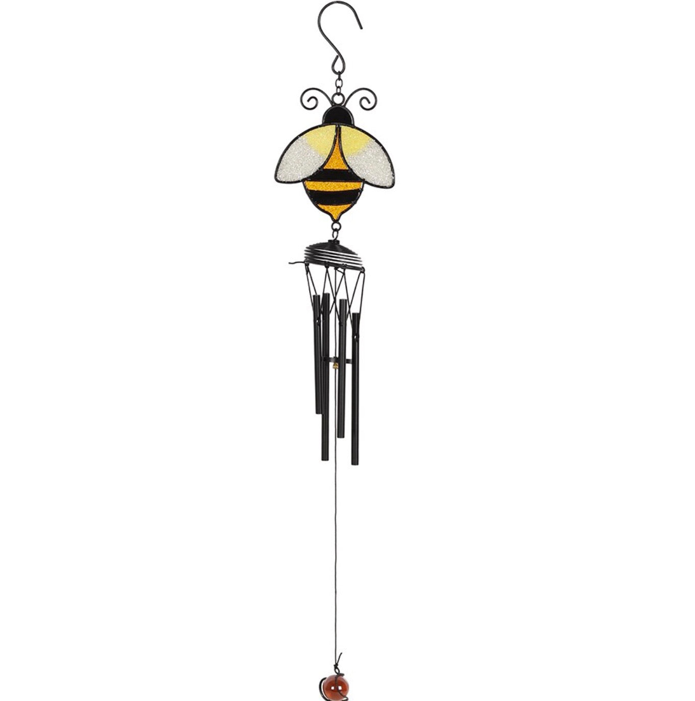 Simple bee wind chime