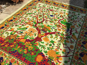Open image in slideshow, Tree of life throw , tapestry