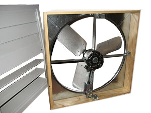 Traditional Whole House Fan