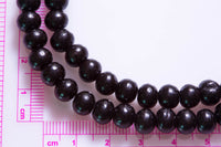 Mala -- 7.5 mm Ebony Wood, 22.5""