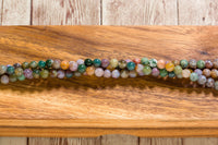 "Fancy Jasper - 6mm - Round - 8"" Strand"