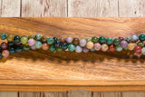 "Fancy Jasper - 8mm - Round - 8"" Strand"