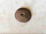 Metalized - Extra Large Disc (35mm) - Bronze Patina