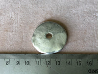 Metalized - Extra Large Disc (35mm) - Silver
