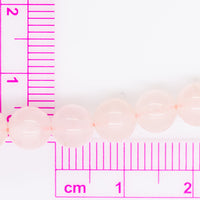 "Rose Quartz - 6mm Round - 16"" Strand"