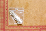 Silver Finish Eyepin - 20 gauge - 24 count