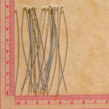 Silver Finish Headpin - 22 gauge - 24 count