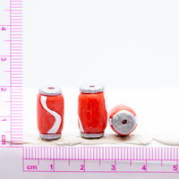 Small Soda Can Ceramic Bead