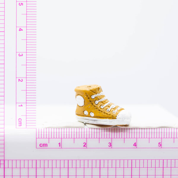 Hightop Sneaker Ceramic Bead