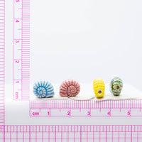 Small Snail Shell Ceramic Bead