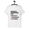 Quality Clothing co SCC logo shirt (white)
