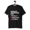 Quality Clothing Co SCC logo shit