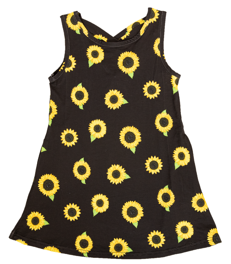 Todler Dress - Sunflower