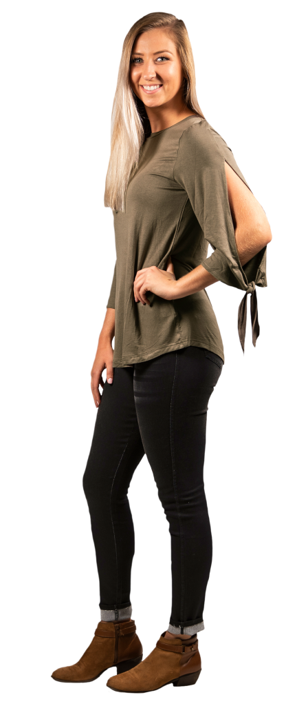 Knot Sleeve - Olive