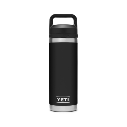 YETI Rambler 18oz Bottle Chug Black