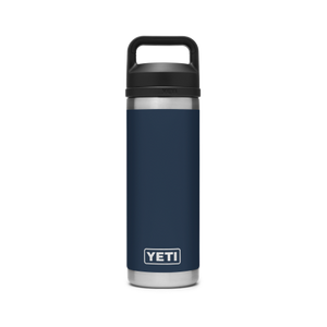 YETI Rambler 18oz Bottle Chug Navy