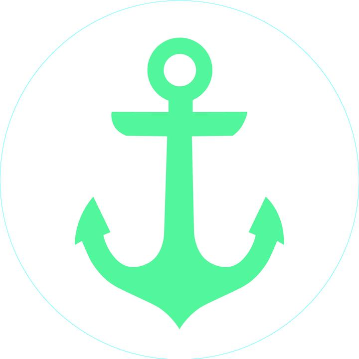 Turquoise Anchor