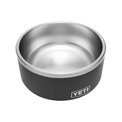 YETI BOOMER 8 DOG BOWL BLACK