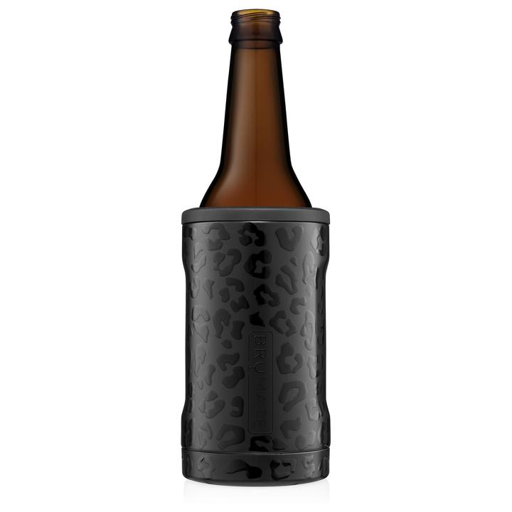 Hopsulator BOTT'L Insulated Bottle Cooler  Onyx Leopard