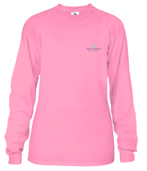 Scrub - Flamingo - Long Sleeve