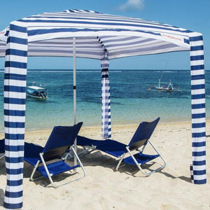 CoolCabanas Navy Stripes