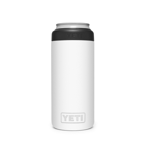 YETI Rambler Colster Slim Can Insulator White
