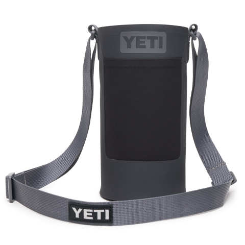 YETI Rambler Bottle Sling Large Charcoal