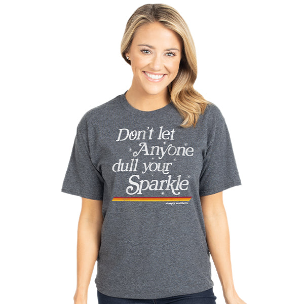 Vintage Sparkle - Dark Heather Grey