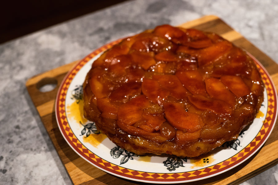 Apple and Quince Tarte Tartin