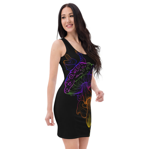 Psychedelic Smokey Shroom Dress