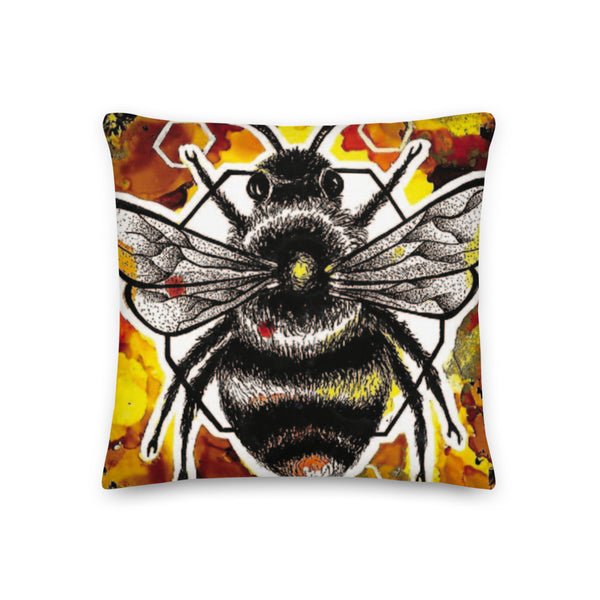Bumble Bee Pillow