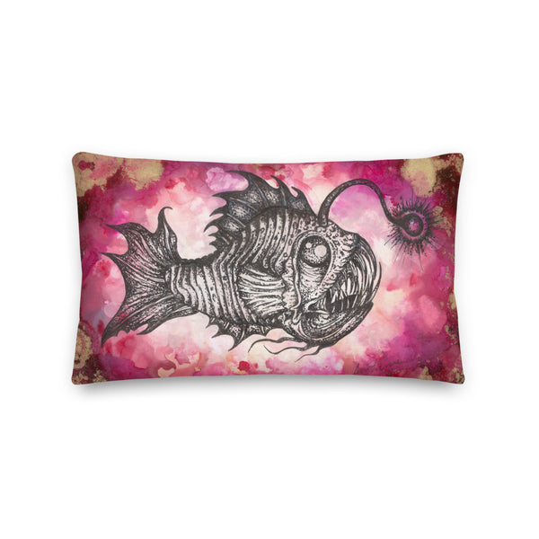 Angler Fish  Pillow