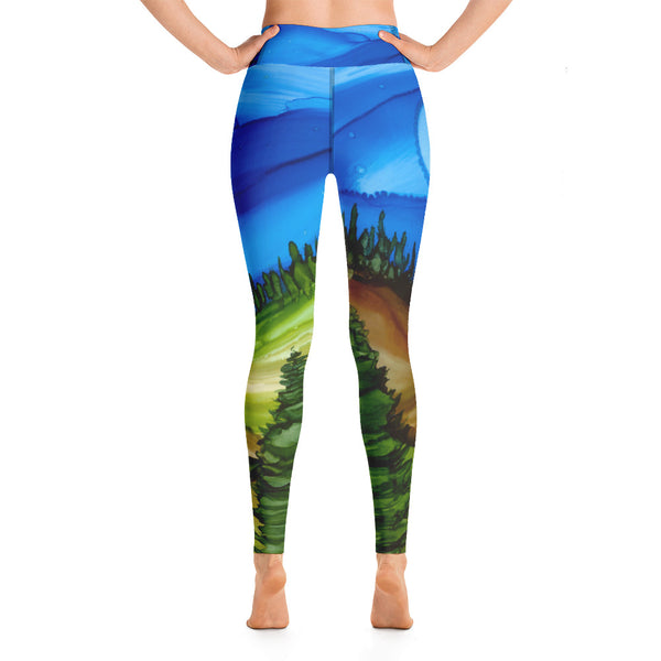 Midnight Mood High Waist Leggings