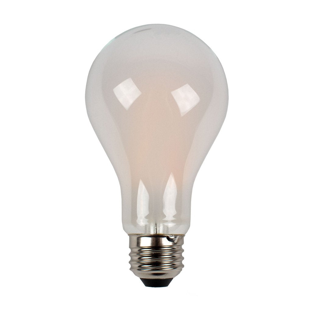 CLEANLIFE® LED A21 White Glass Light Bulb 12W
