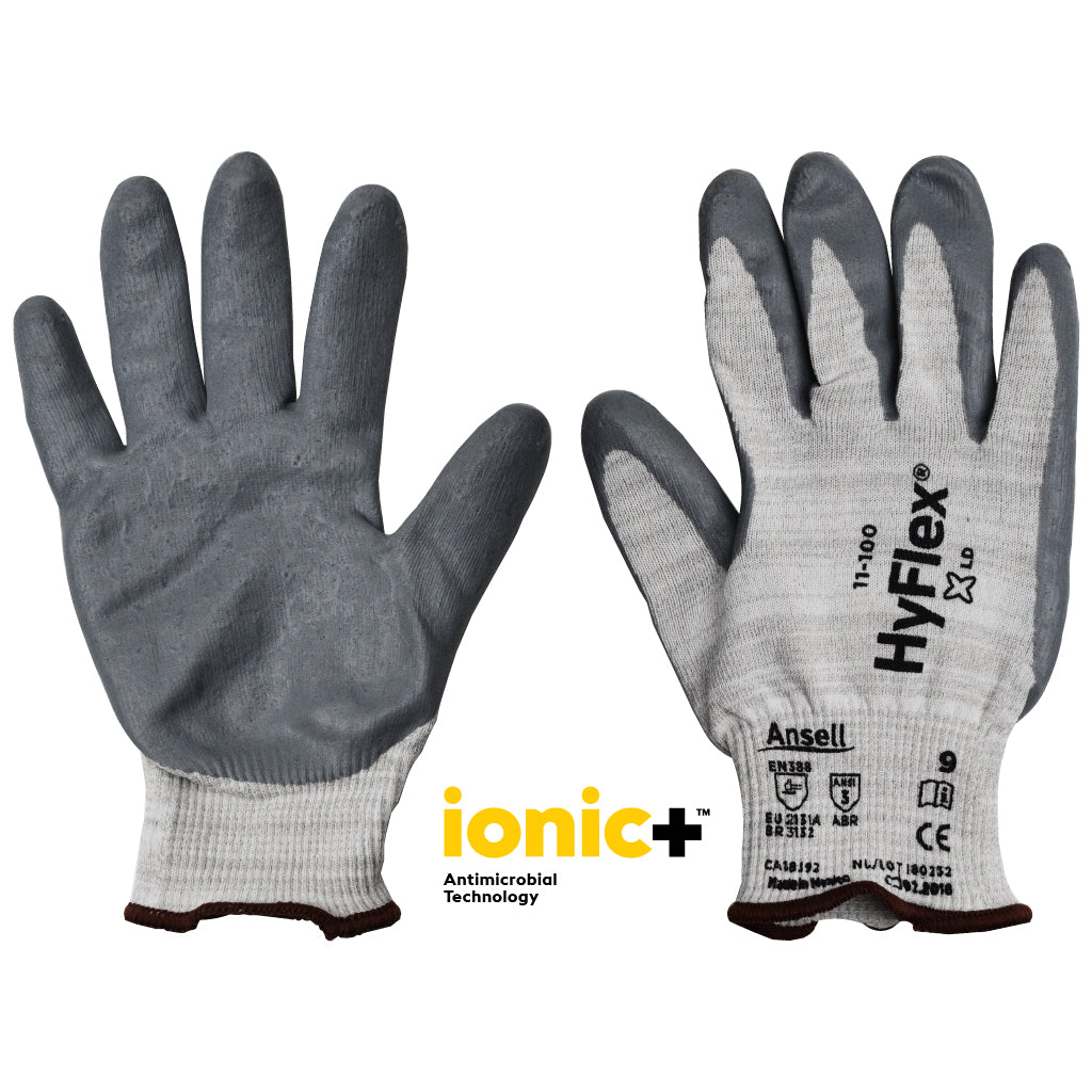 Antimicrobial Gloves (Pair) Touchscreen Compatible (11-100)
