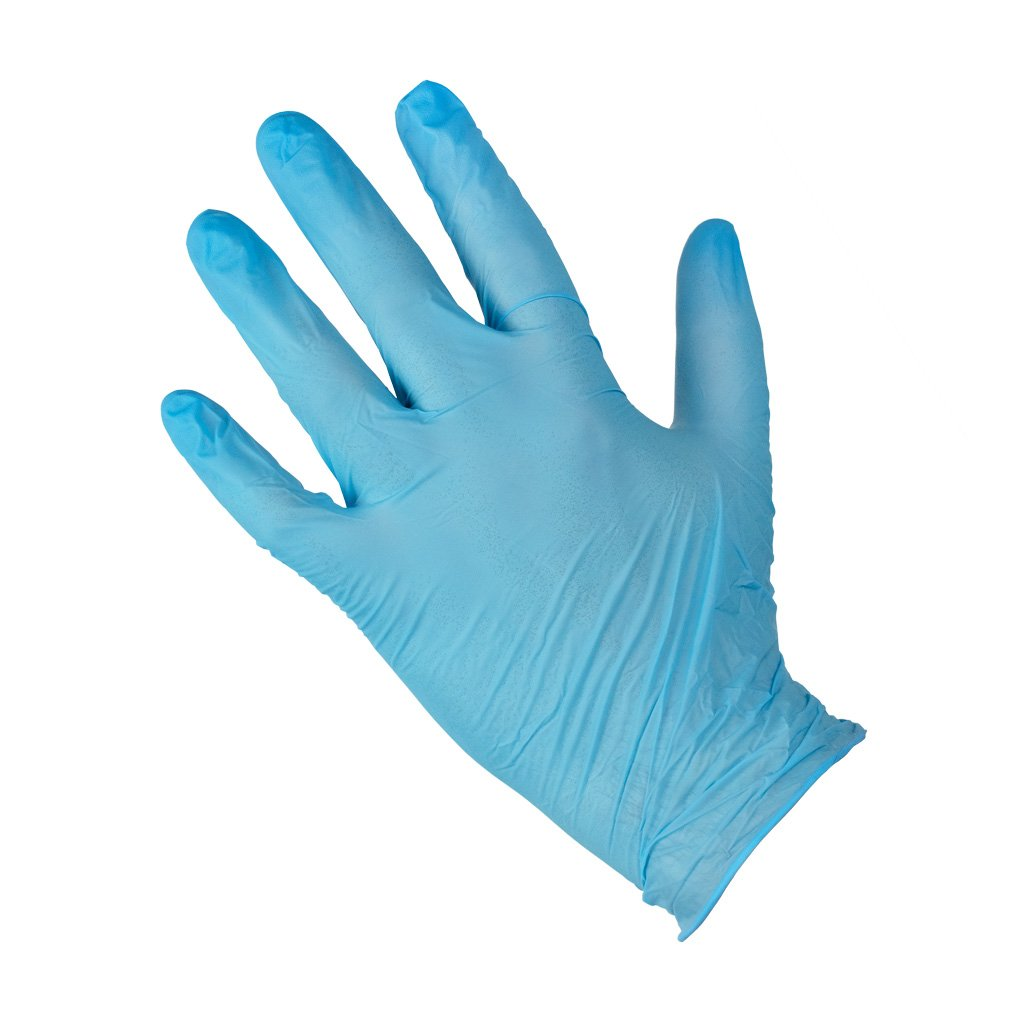Nitrile Gloves - Blue (100 pack)