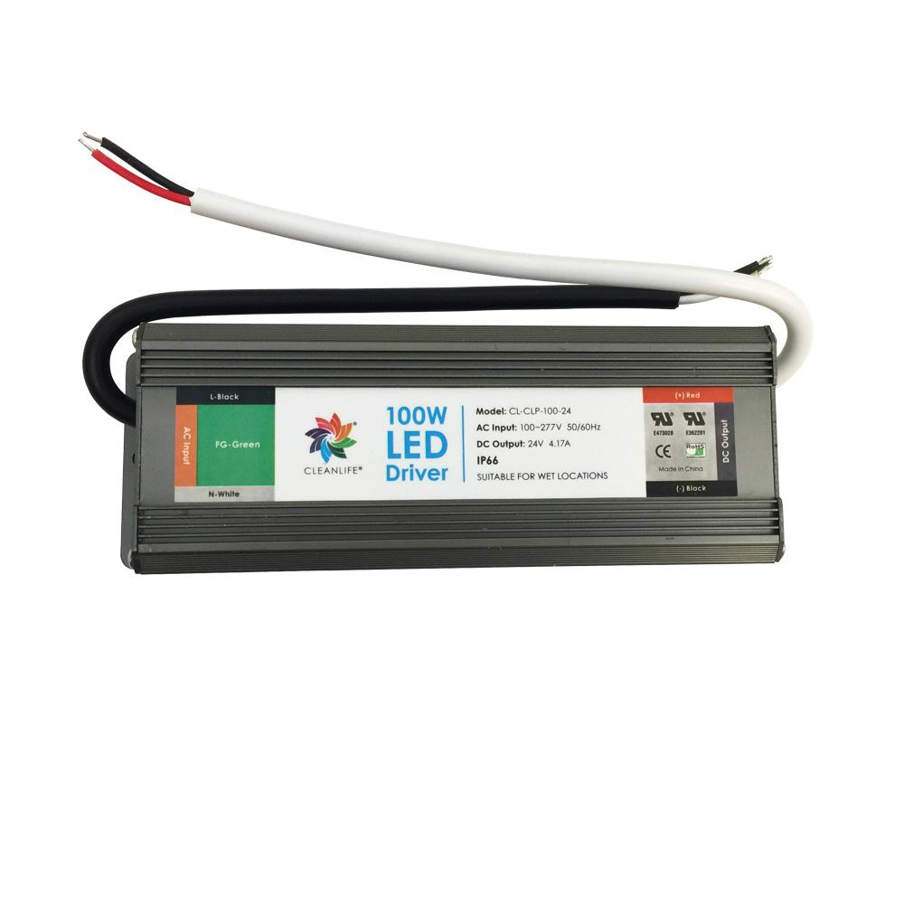 CLEANLIFE® 24V 100W LED Driver IP65