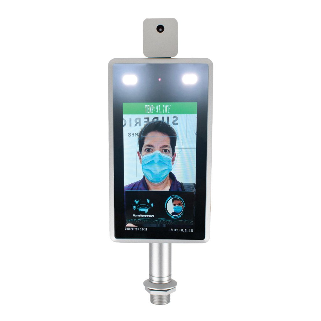 Facial Recognition Temperature Screen w/Stand