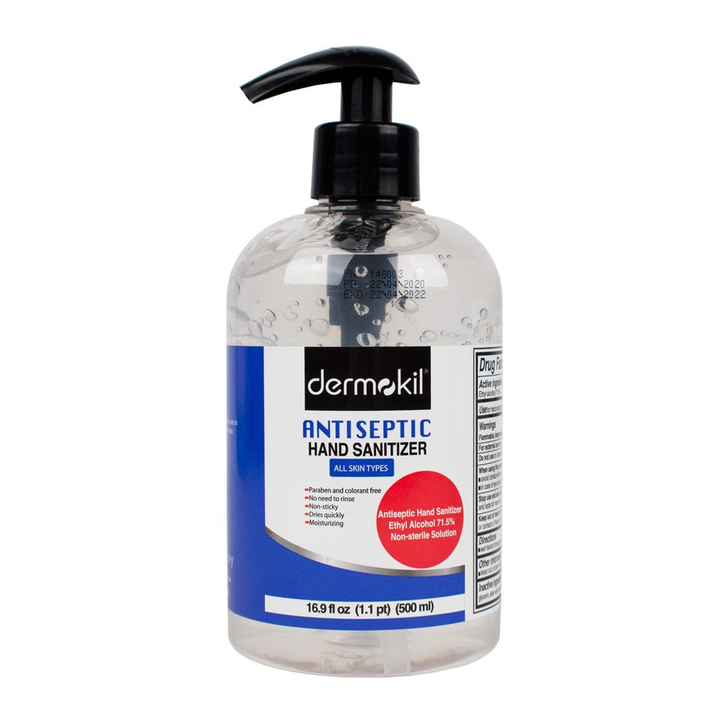 Dermokil 75801-786 Hand Sanitizer 16.9oz Bottle