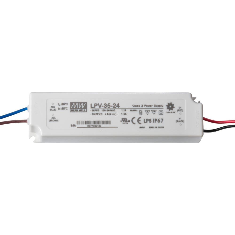 MEANWELL™ LED Driver 24V 35W IP65