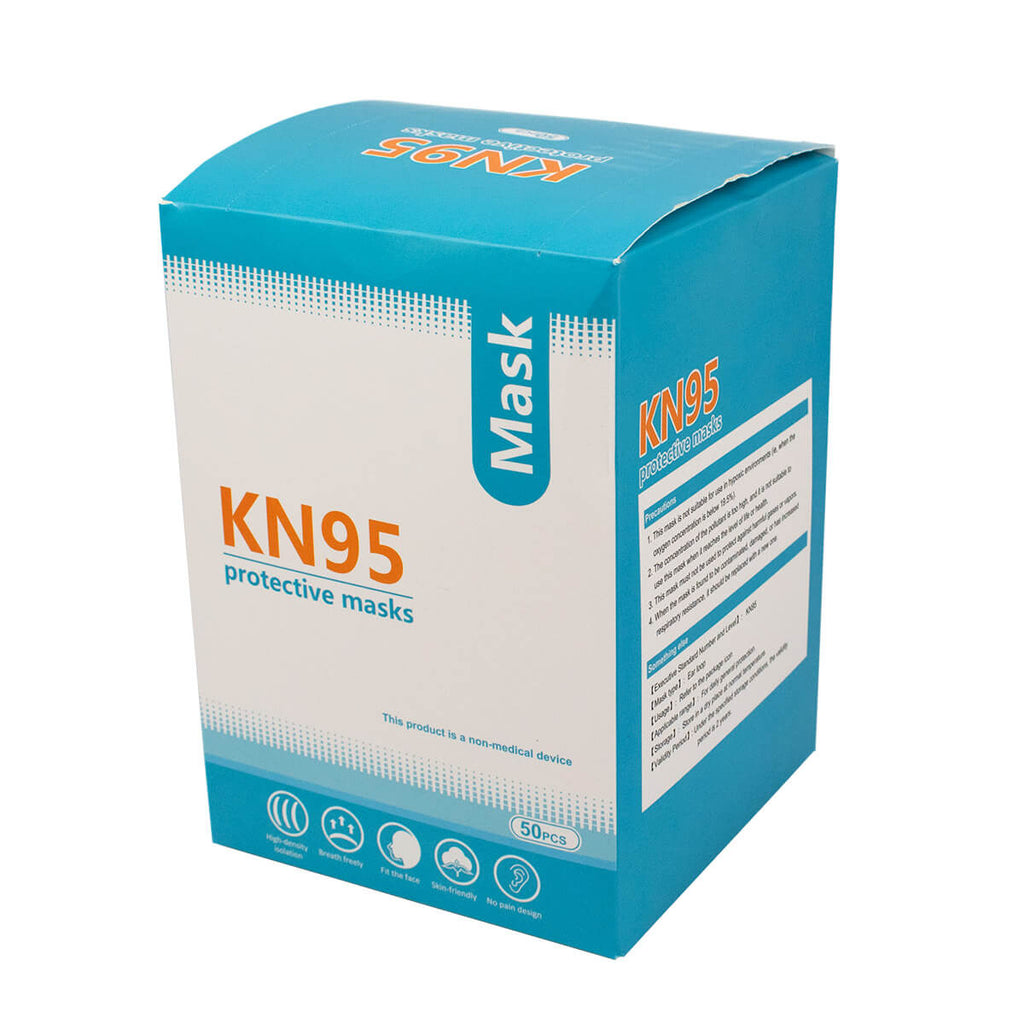 KN95 Face Mask (Box of 50)