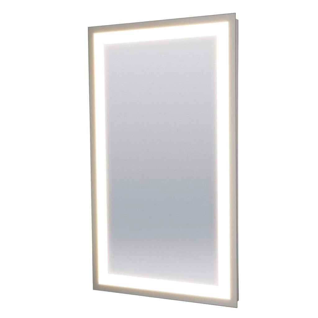 "34"" Modern LED 4-Light Backlit Mirror"